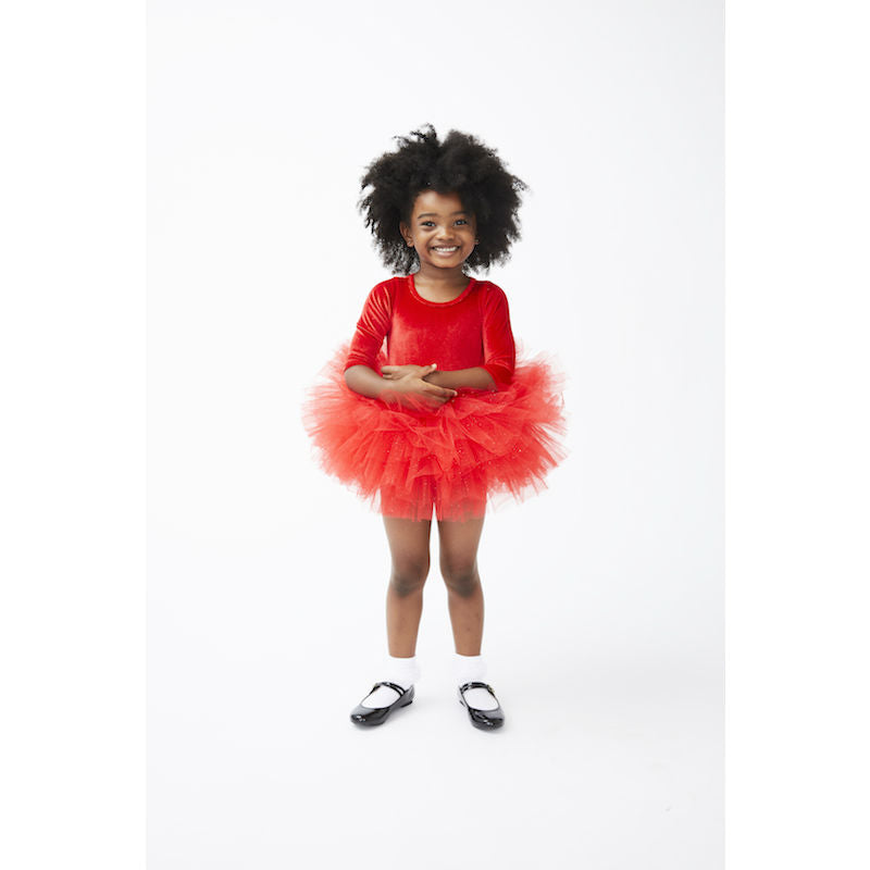 Plum NYC O.M.G. Tutu Dress Rosie Red