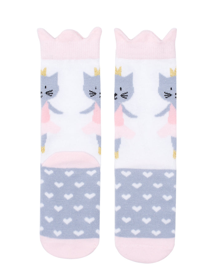 Billy Loves Audrey Ballet Cat Midi Sock