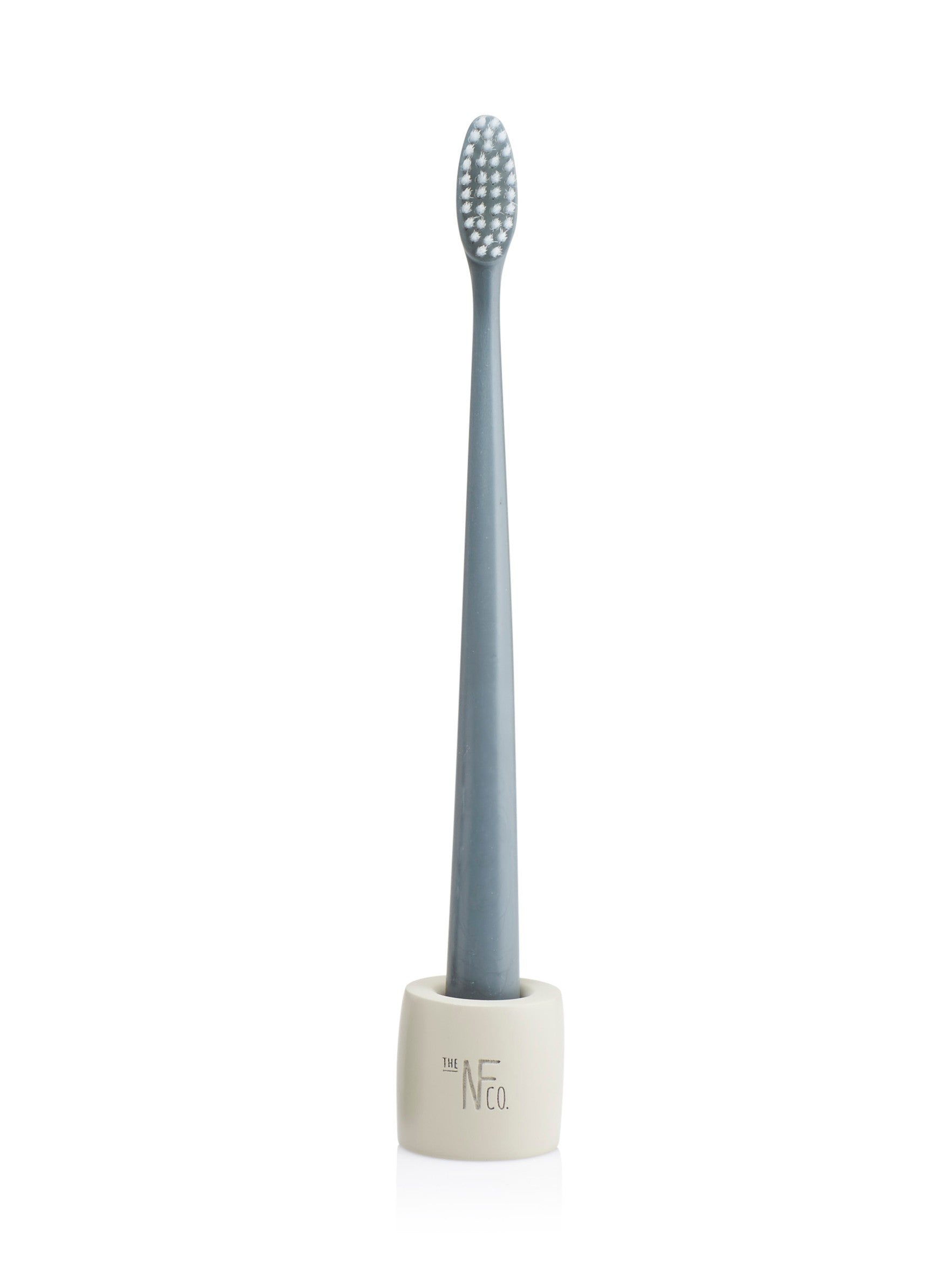The Natural Family Co Bio Brush & Stand - Monsoon Mist