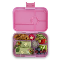 Yumbox Tapas Large Bento Lunchbox Stardust Pink - 5 Compartment