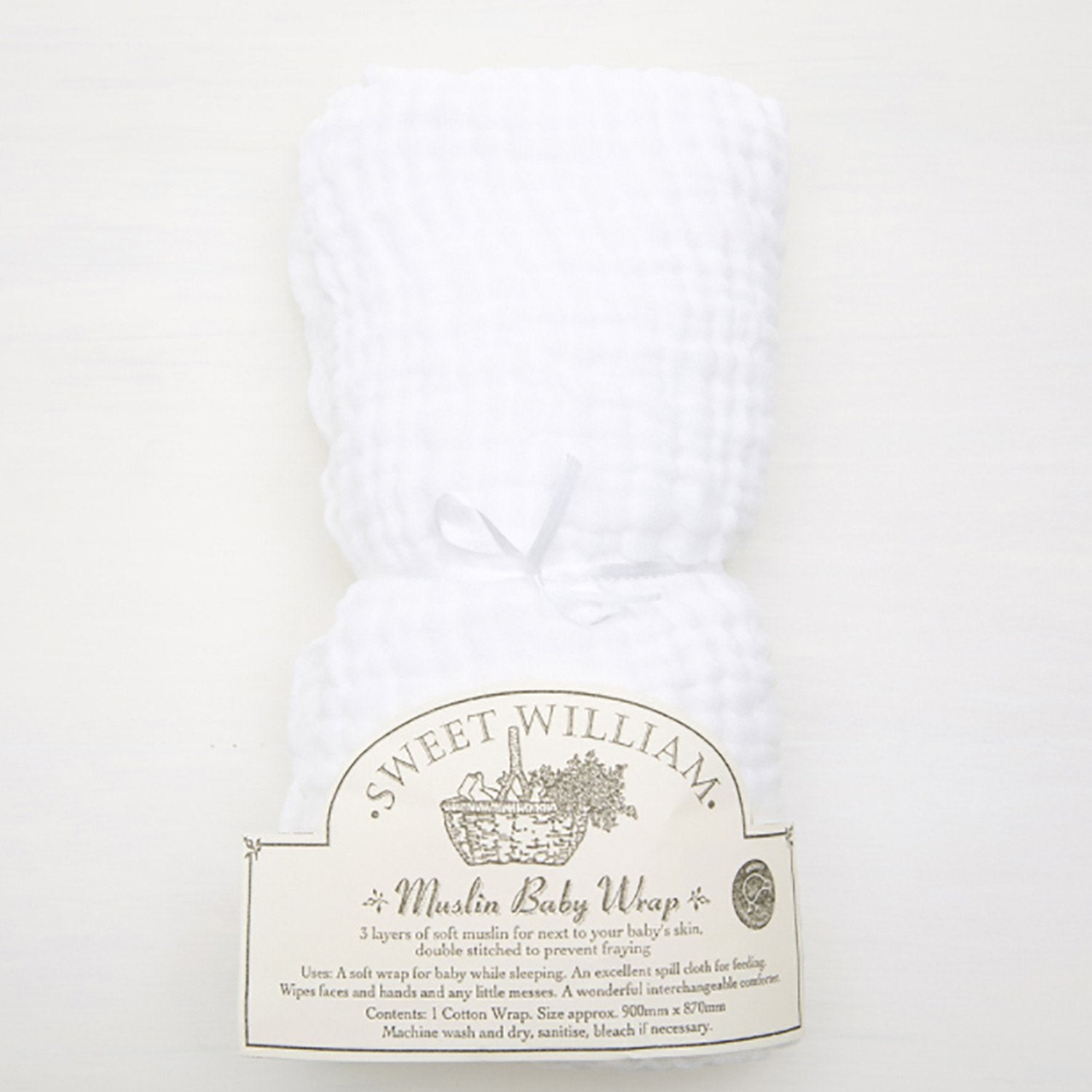 Sweet William Muslin Wraps -Single