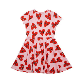 Rock Your Kid Bandit Girl Waisted Dress