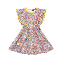 Rock Your Kid Floral Angel Dress