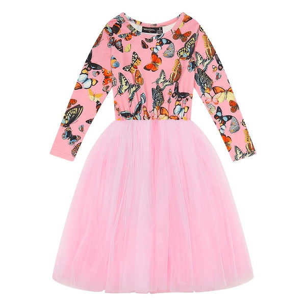 Rock Your Kid Butterflies Flounce Dress