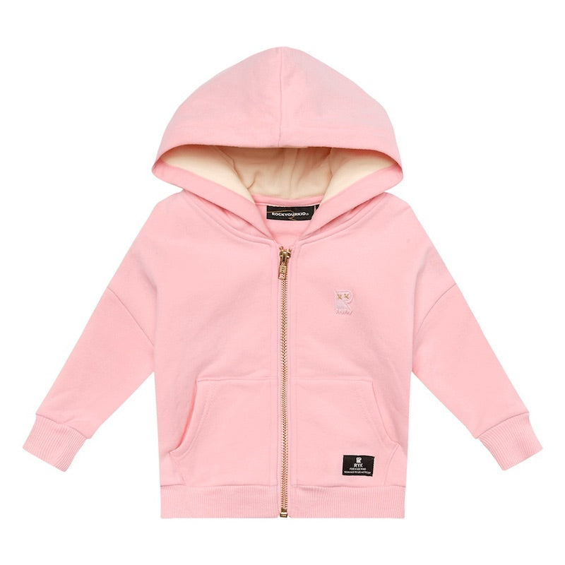 Rock Your Kid Pink Fairy Wing Hoodie