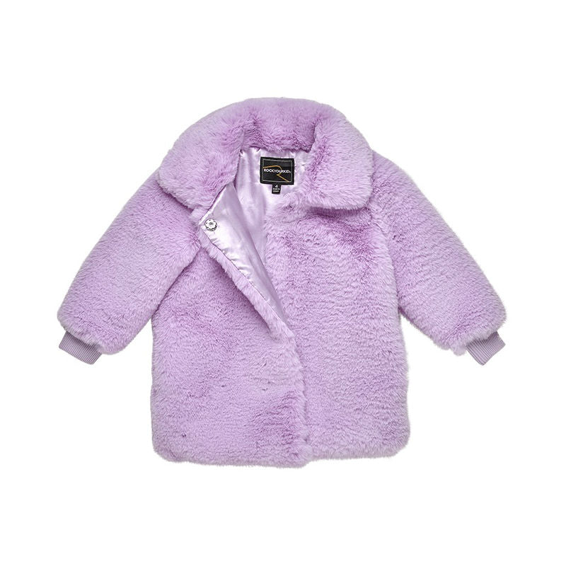 Rock Your Kid Believe in Me Fur Jacket