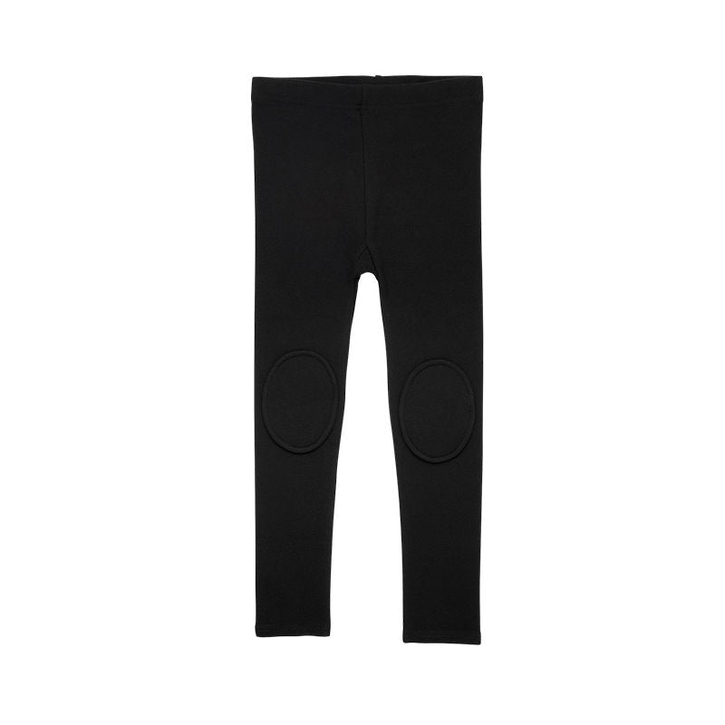 Rock Your Kid Black Knee Patch Tights