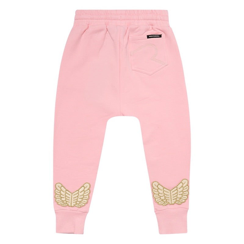 Rock Your Kid Pink Fairy Track Pants