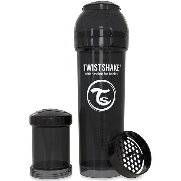 Twistshake Anti-Colic 330ml Bottle Black
