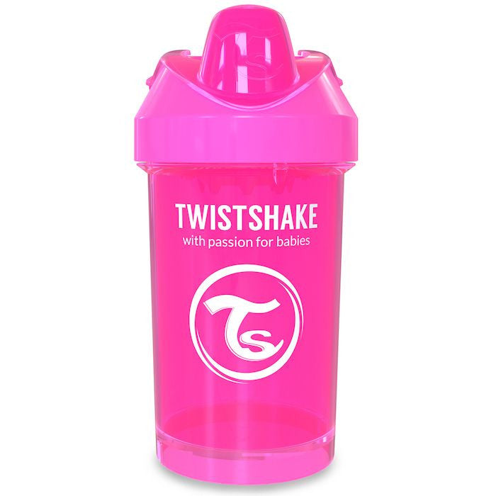 Twistshake Crawler Cup 300ml (8+m) - Pink