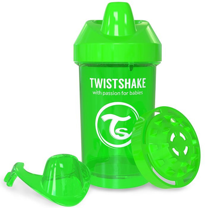 Twistshake Crawler Cup 300ml (8+m) - Green