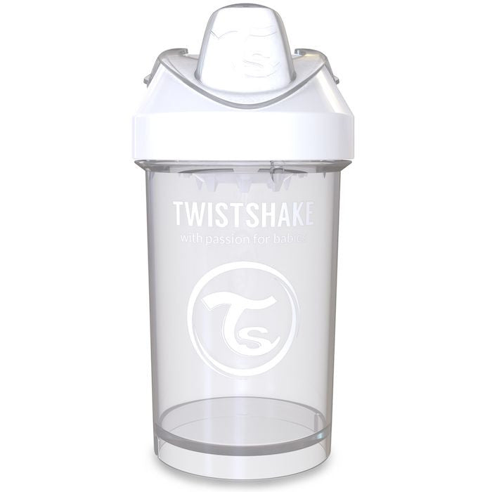 Twistshake Crawler Cup 300ml (8+m) - White