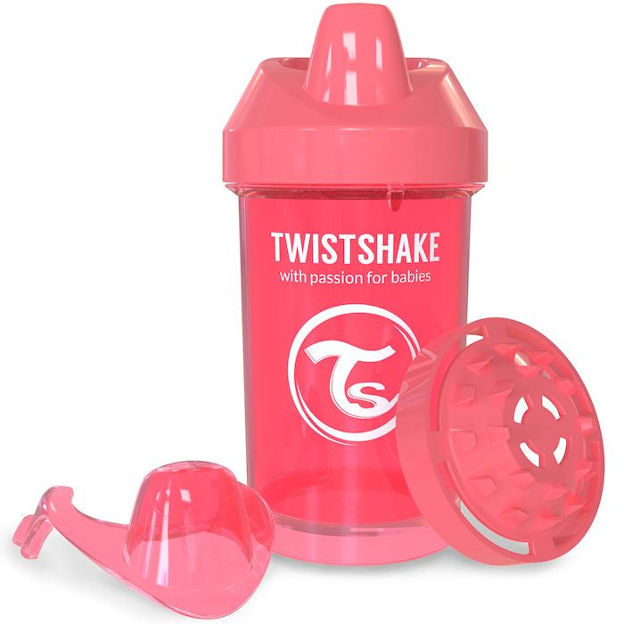 Twistshake Crawler Cup 300ml (8+m) - Peach