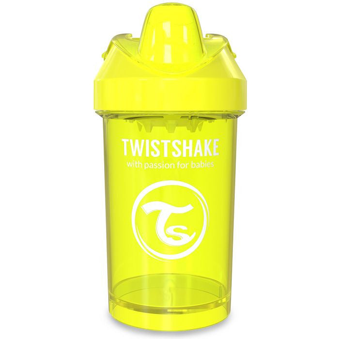 Twistshake Crawler Cup 300ml (8+m) - Yellow