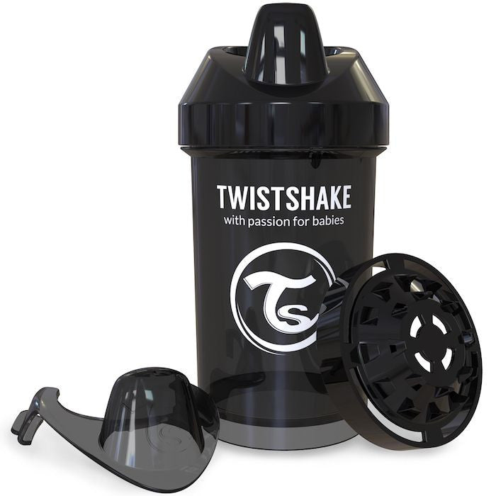 Twistshake Crawler Cup 300ml (8+m) - Black