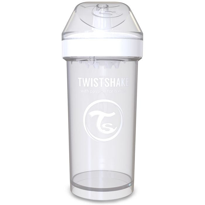 Twistshake Kids Cup 360ml (12+m) - White
