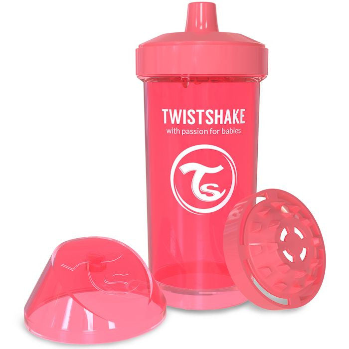 Twistshake Kids Cup 360ml (12+m) - Peach