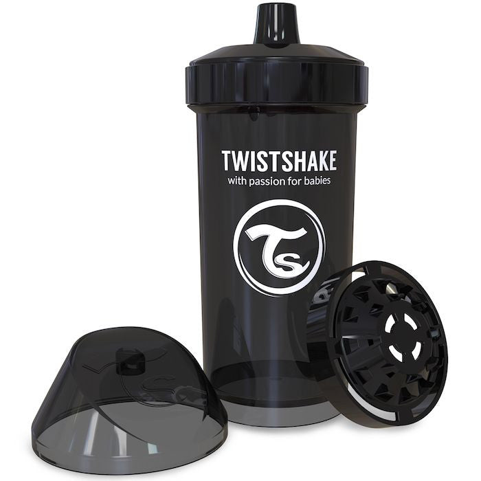 Twistshake Kids Cup 360ml (12+m) - Black
