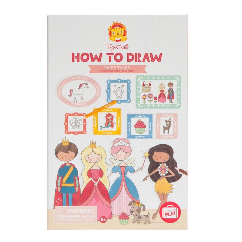 Tiger Tribe How-to-Draw - Fairy Tales