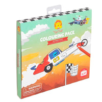 Tiger Tribe Colouring Pack - Supercars