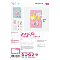 Tiger Tribe Journal Kit Sequins Stickers