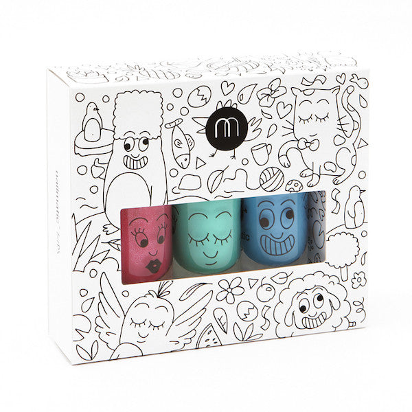 Nailmatic Kids Nail Polish Pack Jungle (3 Pack)