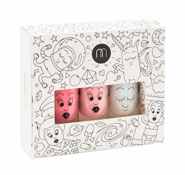 Nailmatic Kids Nail Polish Pack Cosmos (3 Pack)