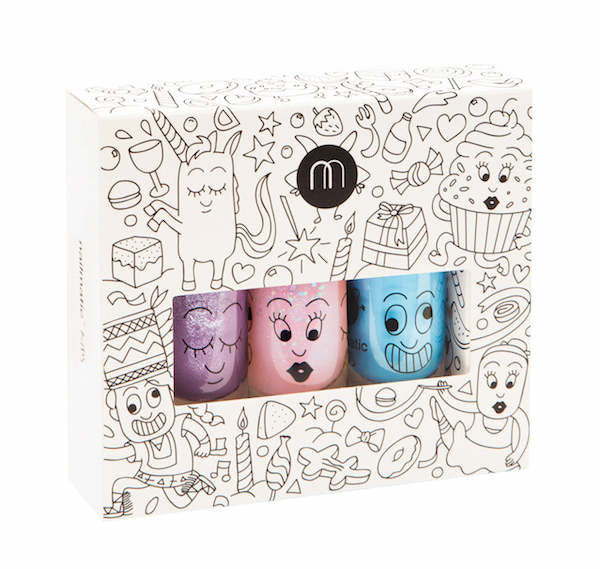 Nailmatic Kids Nail Polish Pack Party (3 Pack)