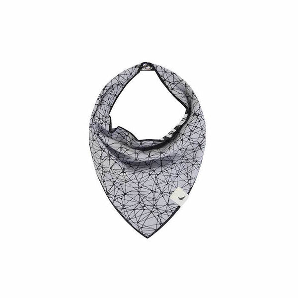 Turtledove London Reversible Bib- Doodle