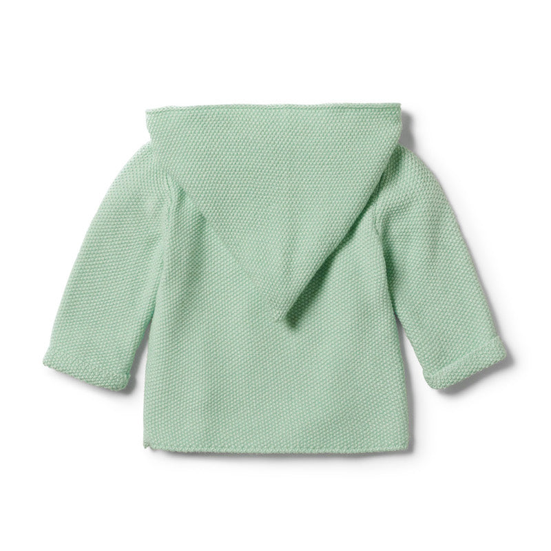 Wilson & Frenchy Moss Green Knitted Jacket