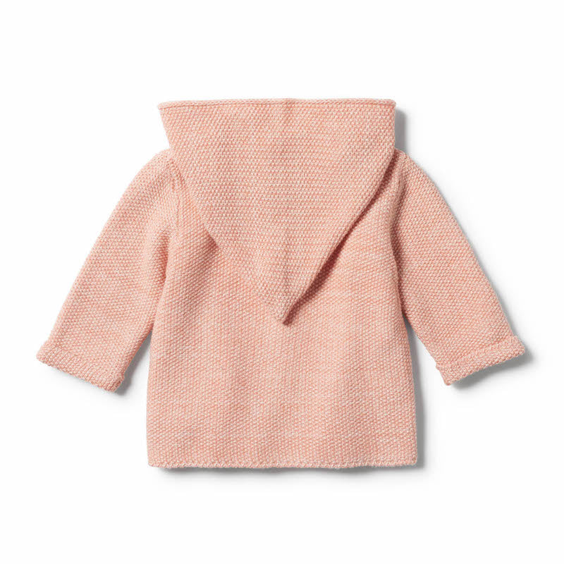 Wilson & Frenchy Strawberry & Cream Knitted Jacket