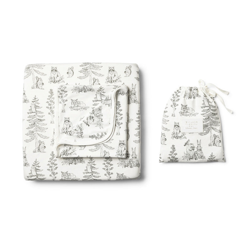 Wilson & Frenchy Organic Petit Foret Cot Set