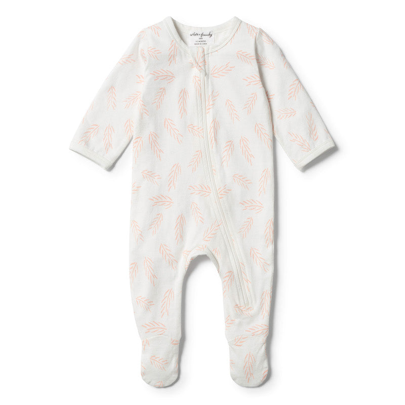 Wilson & Frenchy Organic Flow Zipsuit