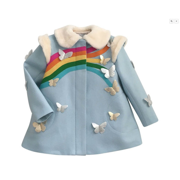 Littlegoodall Rainbow Dreamer Coat