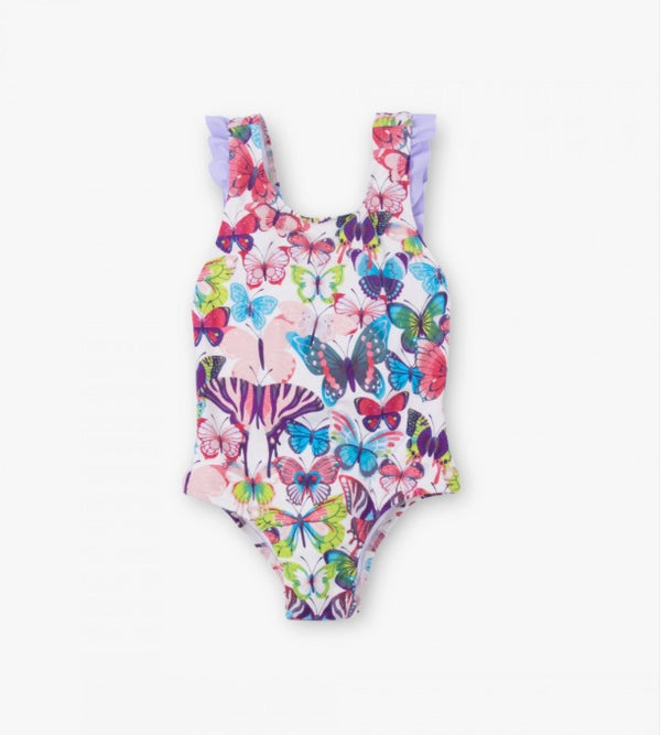 Hatey Colorful Butterflies Swimsuit