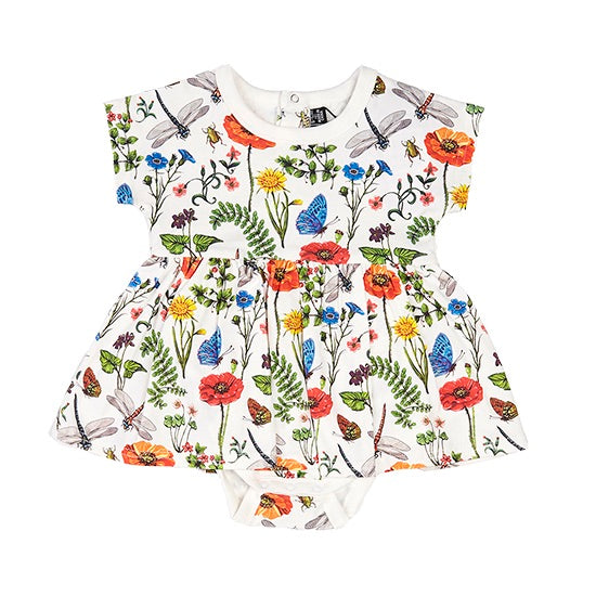 Rock Your Baby Wild Flowers Smock Dress