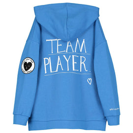 Beau Loves Zip Square Hoodie TeamPlayer