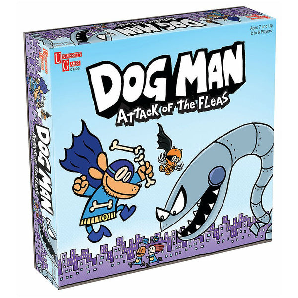 Universitygames Dog Man: Attack of the Fleas Game