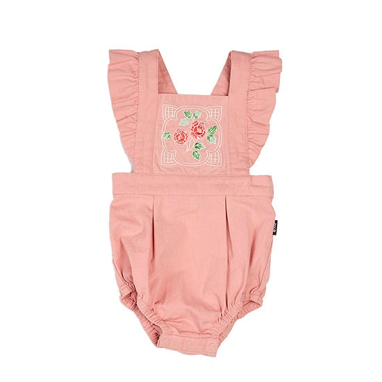 Rock Your Baby PINK ROSE - ROMPER