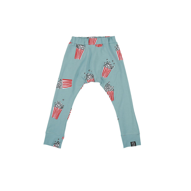 Kukukid Baggy Pants Light Azure Popcorn