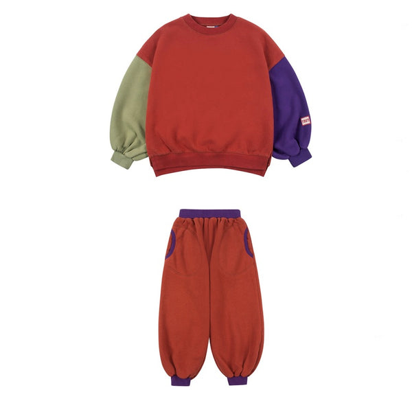 Jelly Mallow Balloon Sweatshirt set
