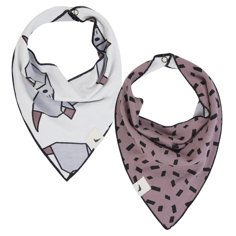 Turtledove London Reversible Bib- Mouse