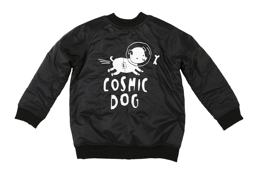 Kukukid Bomber Jacket Cosmic Dog