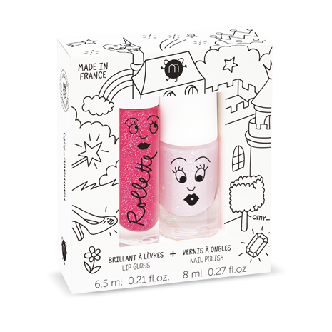 Nailmatic Fairytales - Rollette Nail Polish Duo Set