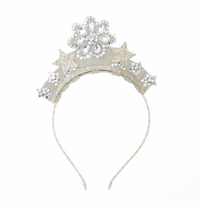 Plum NYC Tabitha Tiara Grey