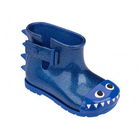 Mini Melissa Fabula Sugar Rain Blue Metallic