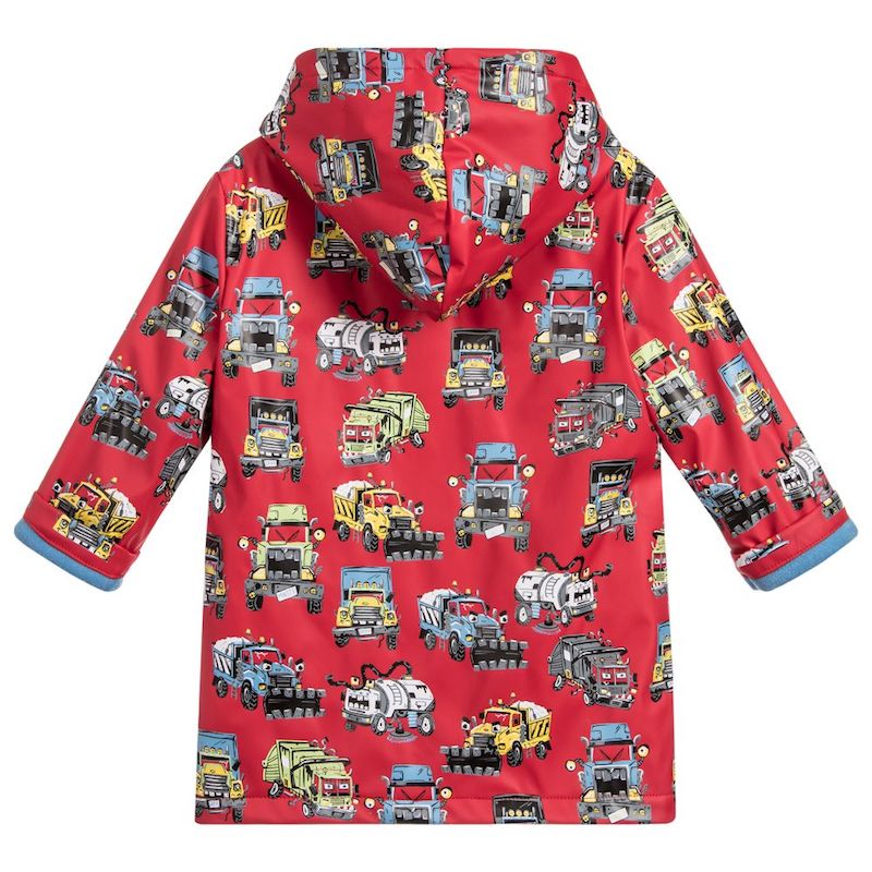 Hatley Monster Trucks Boys Raincoat