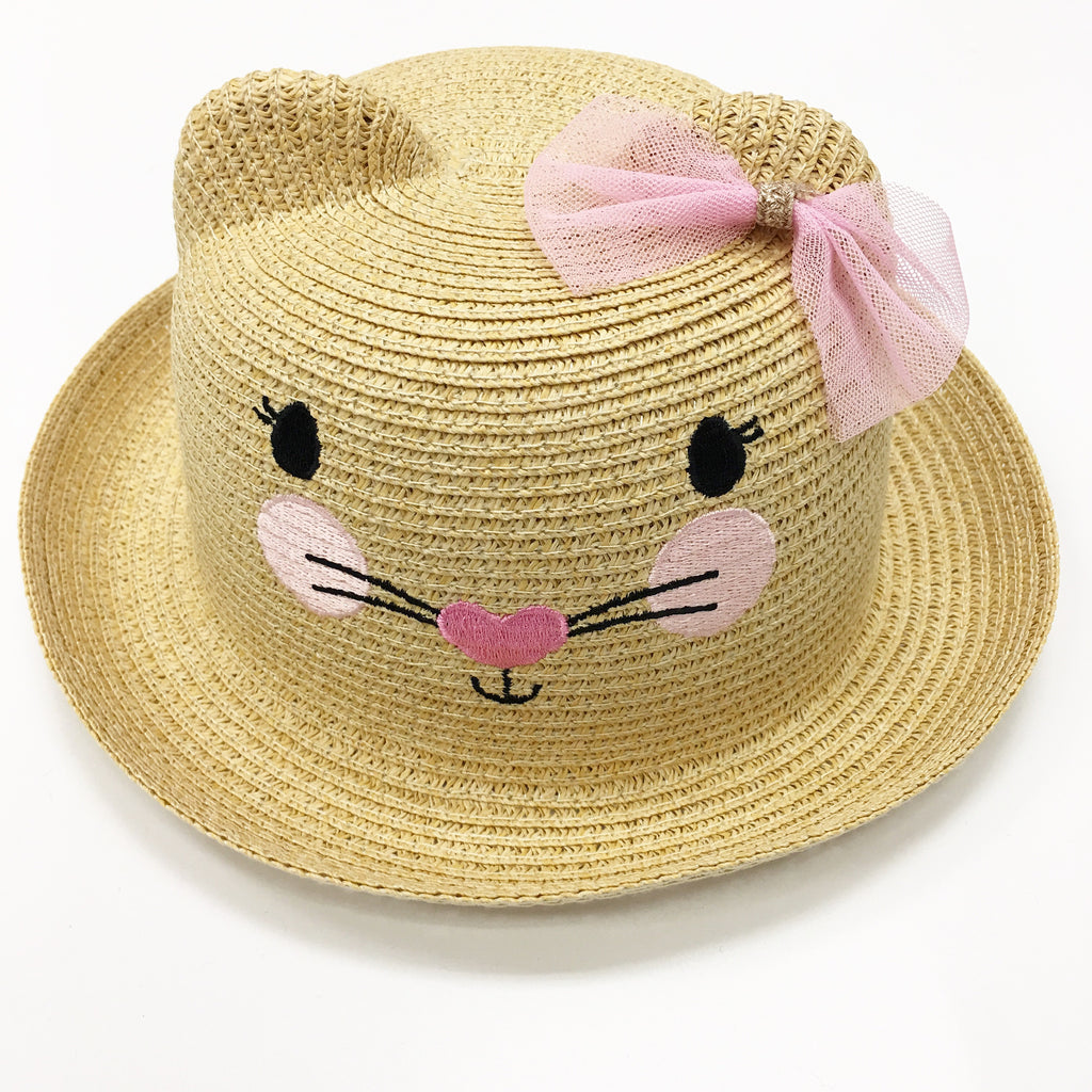 Billy Loves Audrey Mouse Straw Hat