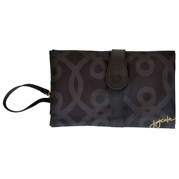 JJ Cole Change mat Clutch Black