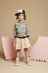 Kukukid Sweatshirt Grey Melange candies